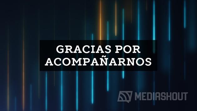 Neon Lines Gracias Por Acompanarnos
