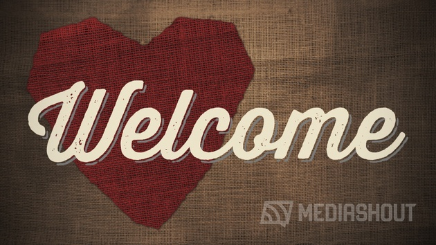Red Heart Welcome