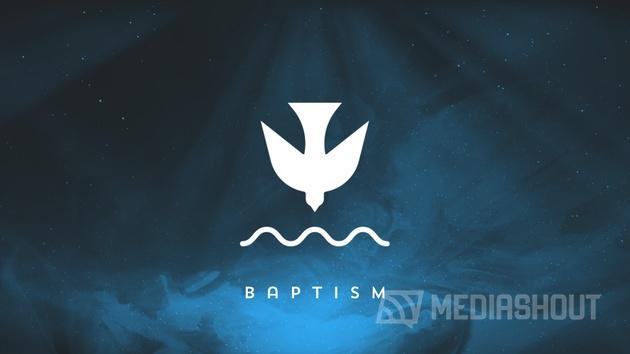 Painted Christmas Baptism