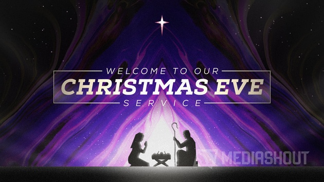 Painted Christmas Eve Title