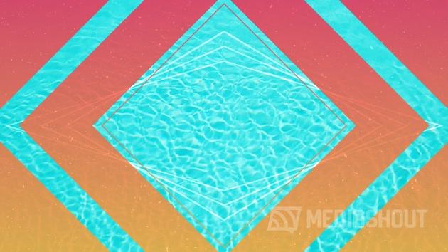 Poolside Summer Blank