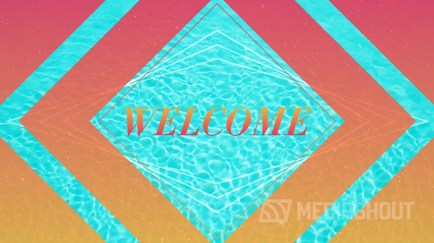 Poolside Summer Welcome