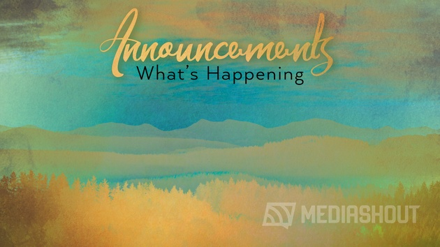 Inspiring Nature Announcements